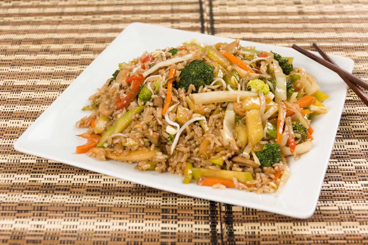 Chow Fan Vegetariano Personal - yuexpress - yuexpress